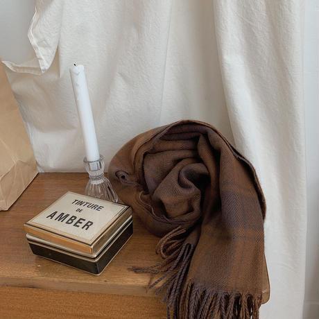 ✳︎予約販売✳︎check stole_na0109