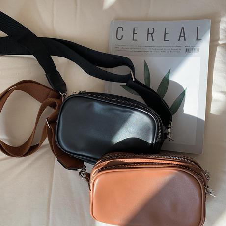 ✳︎予約販売✳︎trio shoulder bag/2colors_na0123