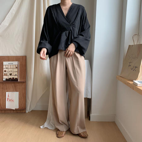 ✳︎予約販売✳︎soft blouse/3colors_nt0058