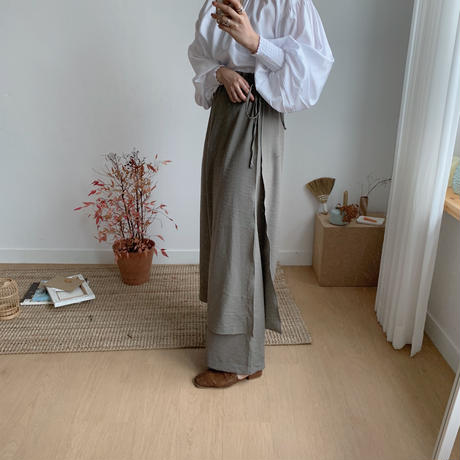 ✳︎予約販売✳︎docking pants/2colors_np0046