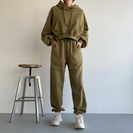 "【nokcha original】""latte de the vert""jogger pants/3colors_np0454"