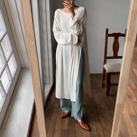 《予約販売》satin easy pants/2colors_np0262