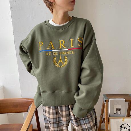《予約販売》PARIS mtm/2colors_nt0720