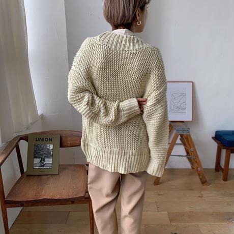 《予約販売》low gage knit cardigan_nt0647