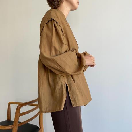 【nokcha original】lady gather blouse_nt1048