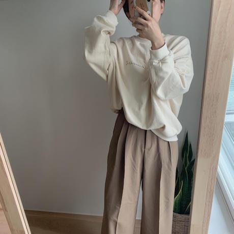 ✳︎予約販売✳︎belt set wide  pants_np0050