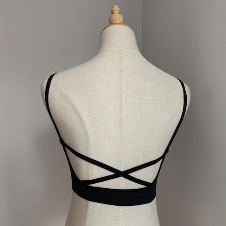 《予約販売》back cross cami bra/3colors_nt0573