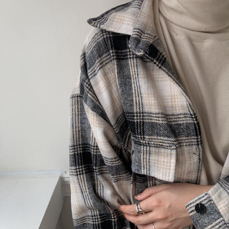 ✳︎予約販売✳︎daily check shirt_nb0043