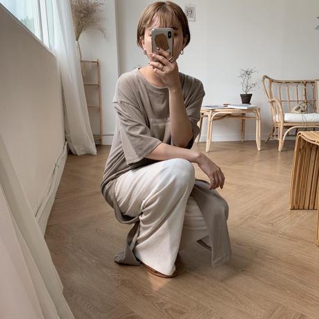 ✳︎予約販売✳︎material pants/2colors_np0034