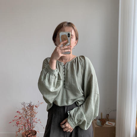 ✳︎予約販売✳︎bottan fly blouse/3colors_nb0029