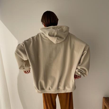 《予約販売》unisex label hood parka/2colors_nt0887