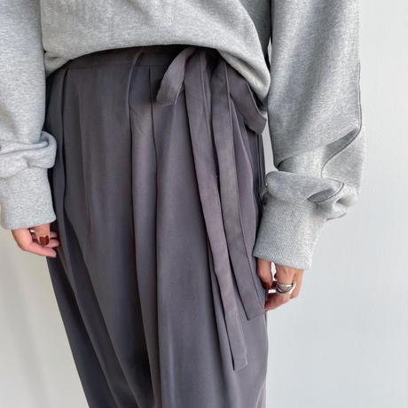 《予約販売》string material pants/3colors_np0477