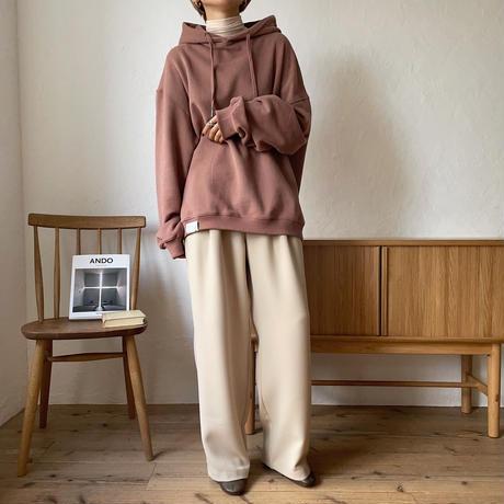 《予約販売》three tuck wide pants/2colors_np0311
