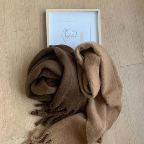 ✳︎予約販売✳︎volume muffler/2colors_na0115