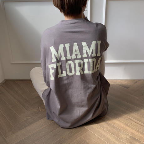 ✳︎予約販売✳︎Florida tee/2colors__nt0120