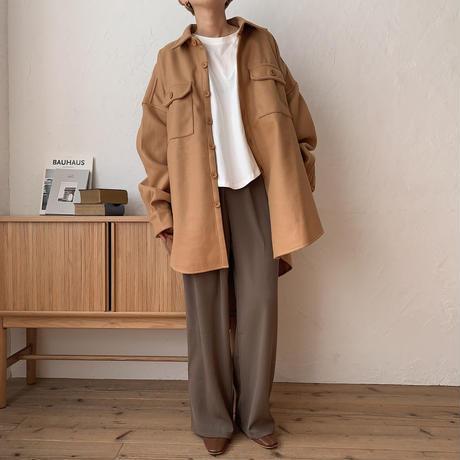 《予約販売》 over warm shirt jk/3colors_no0107