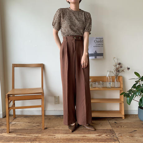 《予約販売》bottan s/s wide pants/2colors_np0180