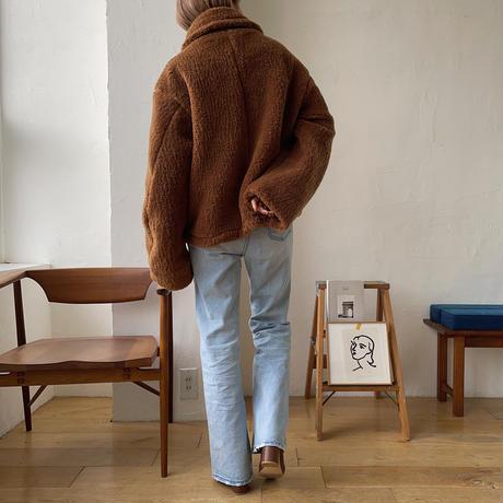 《予約販売》unique boa jacket/2colors_no0116
