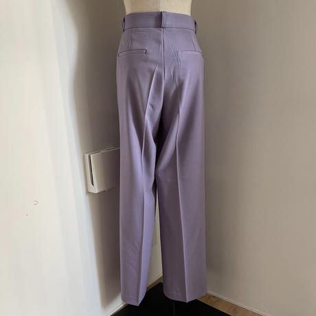 《予約販売》s/s two tuck wide pants/2colors_np0357