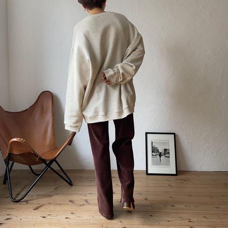 《予約販売》corduroy easy pants/2colors_np0318
