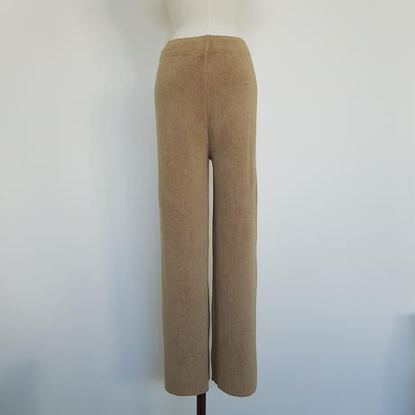 high gage lib knit pants/2colors_np0094