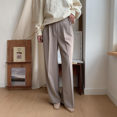 ✳︎予約販売✳︎lady long wide pants/2colors_np0128