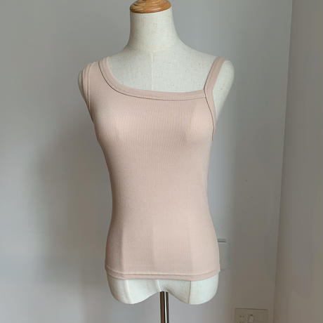 《予約販売》asymmetry camisole/3colors_nt0511
