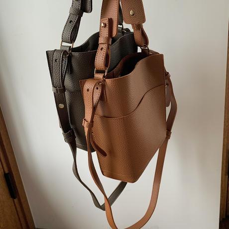 《予約販売》2way unique minimal bag/2colors_na0169