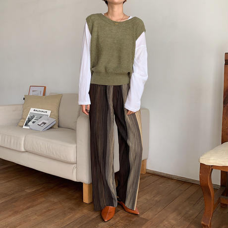 《予約販売》gradation rincl pants_np0259