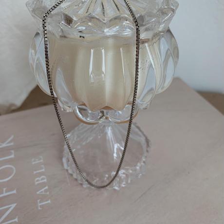 *予約販売*silver925 bloc chain necklace_na0039