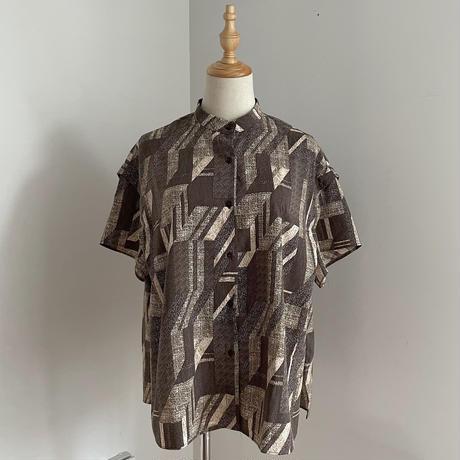 【nokcha original】vintage pattern blouse_nt0949
