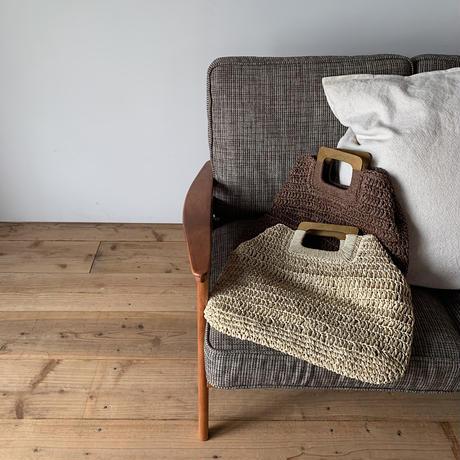 《予約販売》straw 2way bag /2colors_na0171