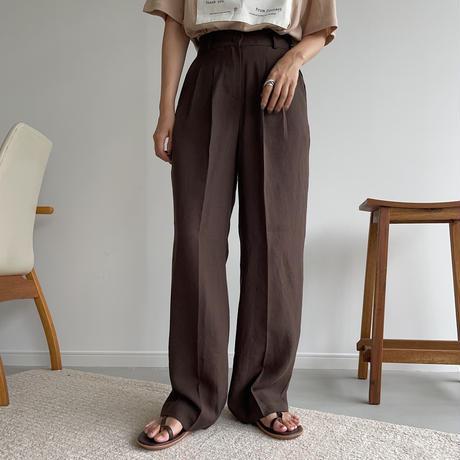 《予約販売》summer tuck long pants/2colors_np0427