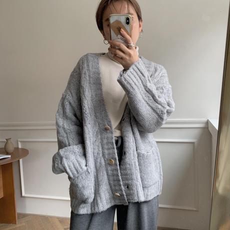 ✳︎予約販売✳︎fluffy cardigan /2color_no0024