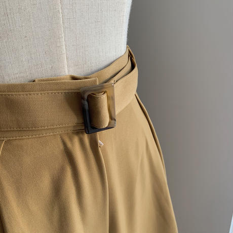 《予約販売》belt set yellow pants_np0292