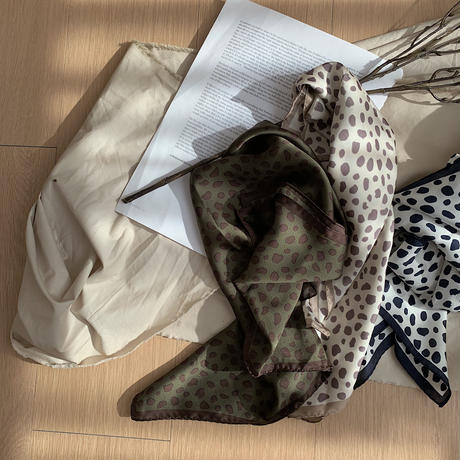 《予約販売》leopard scarf/3 colors_na0140