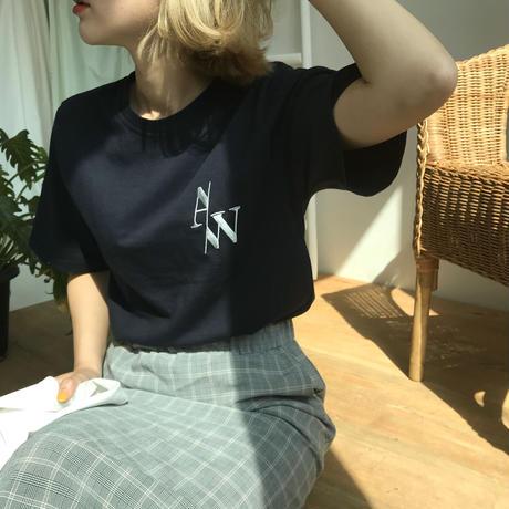 * 予約販売*A/W T-shirt/ネイビー