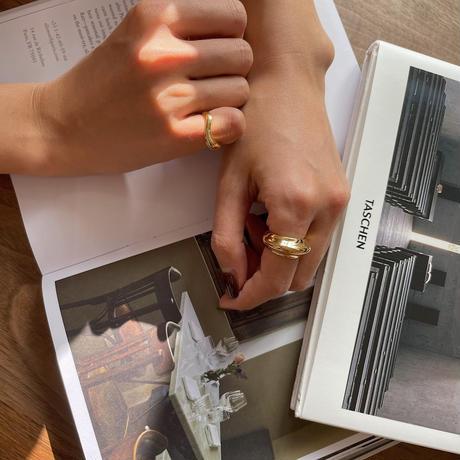 《予約販売》silver925 volume ring/2colors_na0234