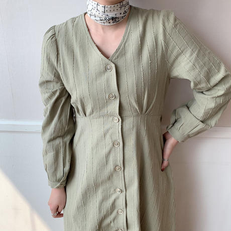【NOKCHA  original】2way detail long ops/khaki