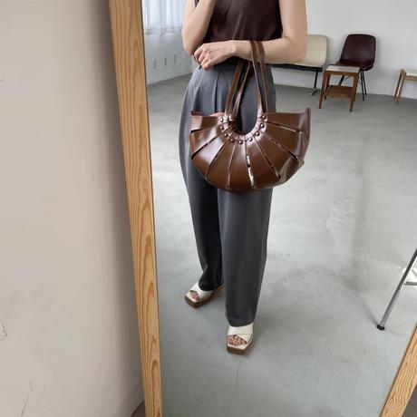 《予約販売》wood sole closs sandal/2colors_na0283