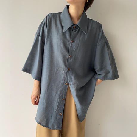 《予約販売》unisex material shirt/3colors_nt0960