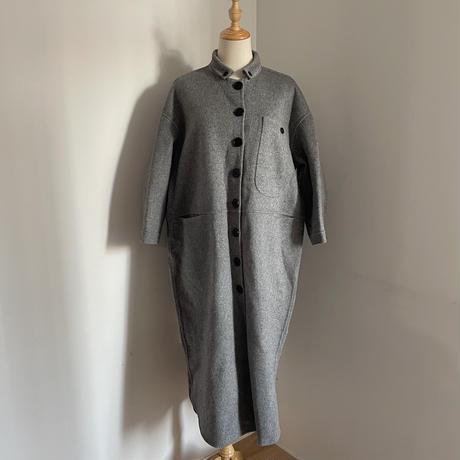 《予約販売》pocket long wool coat/2colors_no0139