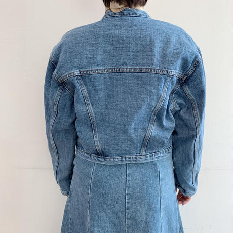 no-collar denim JK