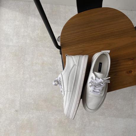 《予約販売》platform leather sneakers_na0277