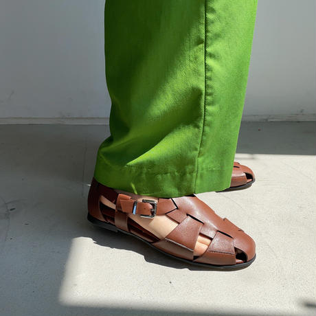 《予約販売》mannish gurkha sandal/2colors_na0272