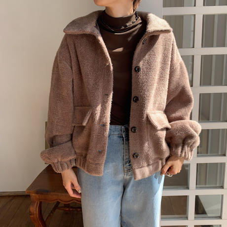 《予約販売》quality warm jacket/2colors_nt0678