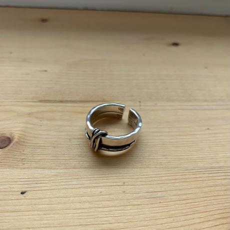 *予約販売*silver925 knot ring_na0041