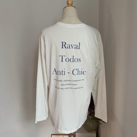 《予約販売》Raval tee/2colors_nt0616