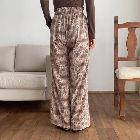 《予約販売》python easy pants/2colors_np0261