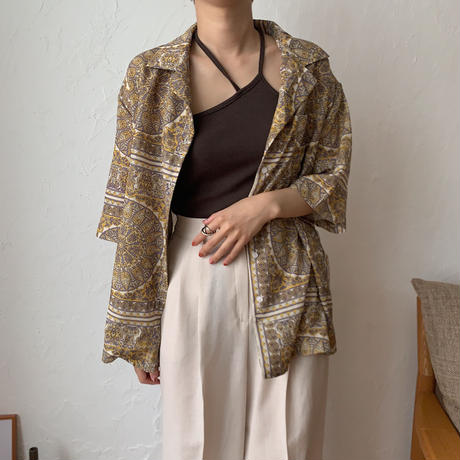 《予約販売》paysley shirt blouse_nt0417